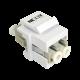 Adaptador de fibra óptica Doble
