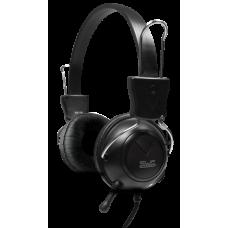 Auricular estéreo con micrófono compacto y control de volumen  3.5mm