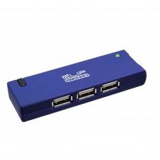Concentrador USB 2.0 de 4 puertos