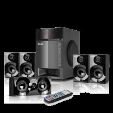 Mirage | Sistema de parlantes con sonido envolvente de 5,1 con tecnología inalámbrica Bluetooth y reproductor de audio USB/SD
